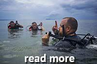Volunteer diving program
