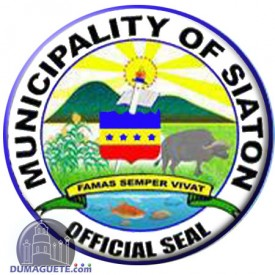 Official Seal of the Municipality of Siaton